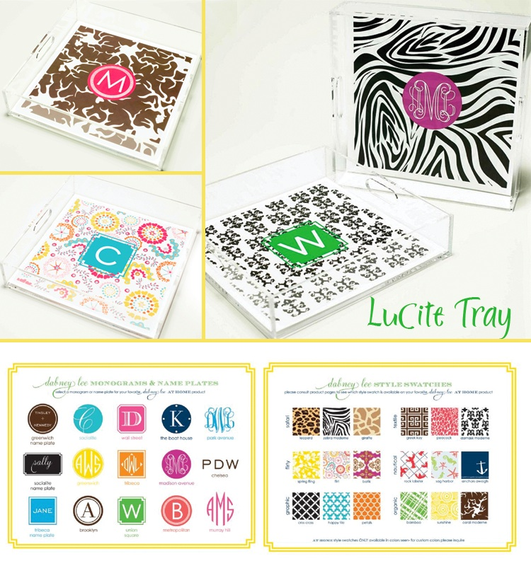 a great monogrammed gift idea