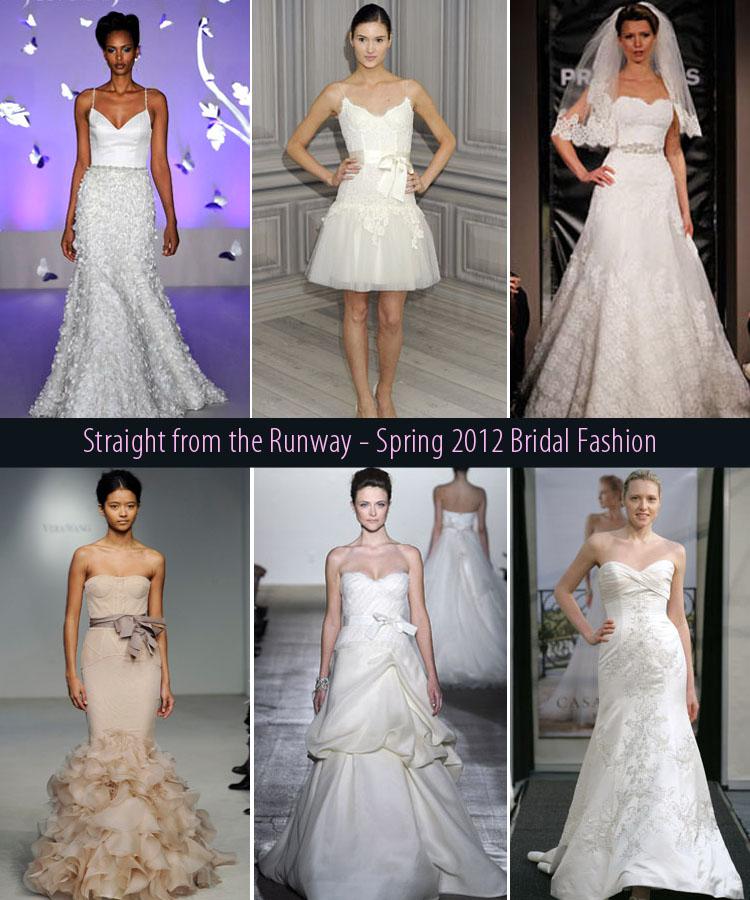 spring 2012 bridal fashion