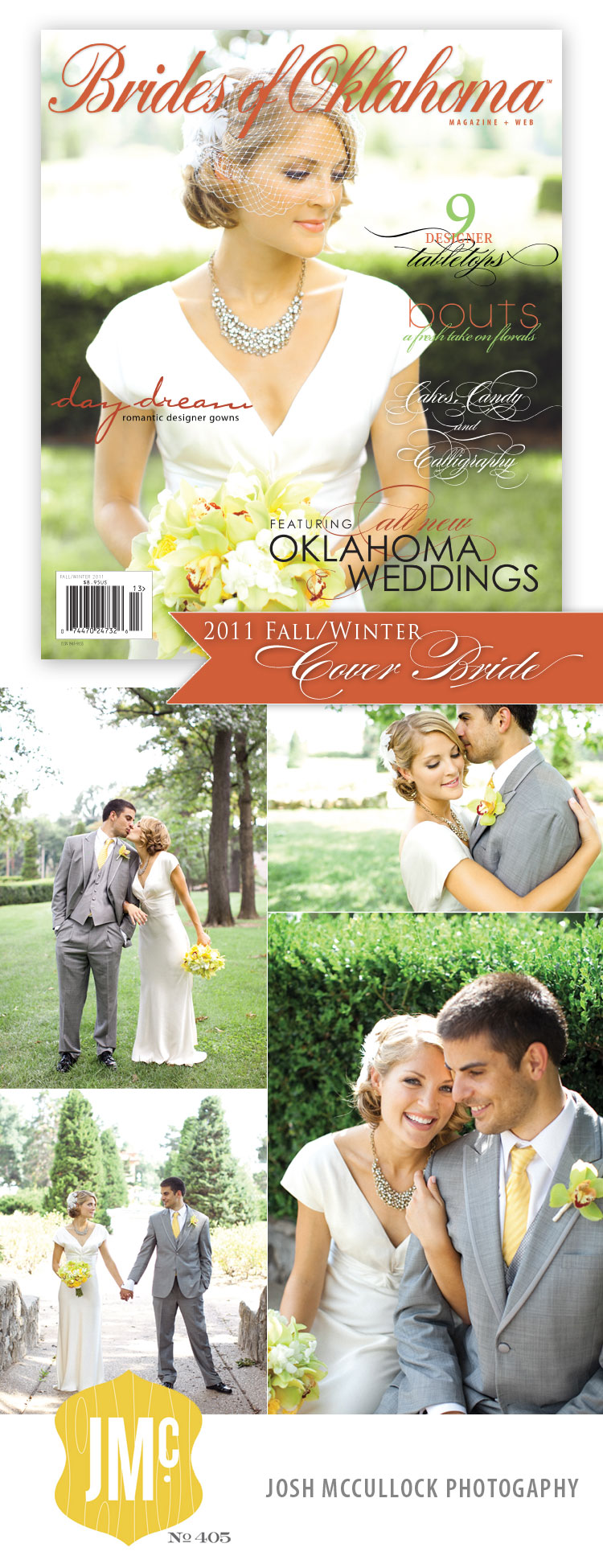 cover bride revealed – fallwinter 2011 issue