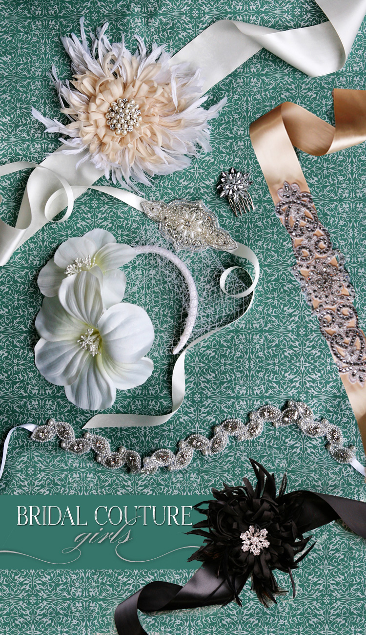 must have wedding accessories–bridal couture girls