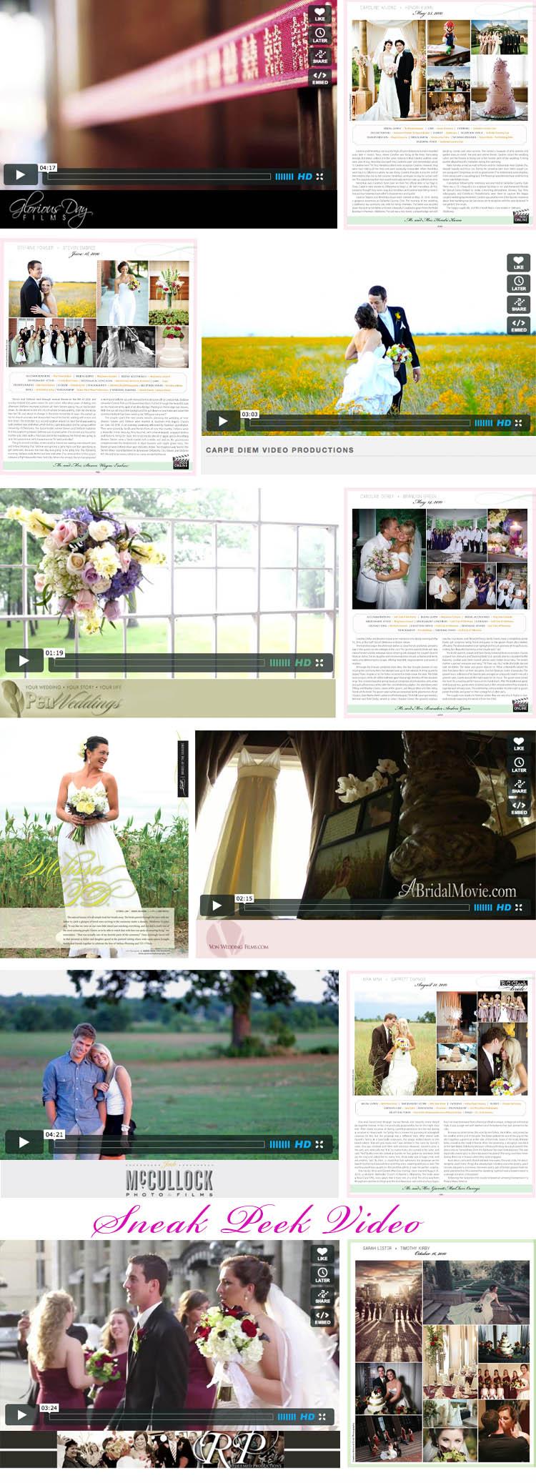 the world of wedding cinematography