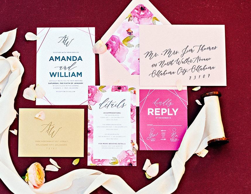 Meet The Mag Creatives Oklahoma Wedding Invitation Designer Hazel Paper Co