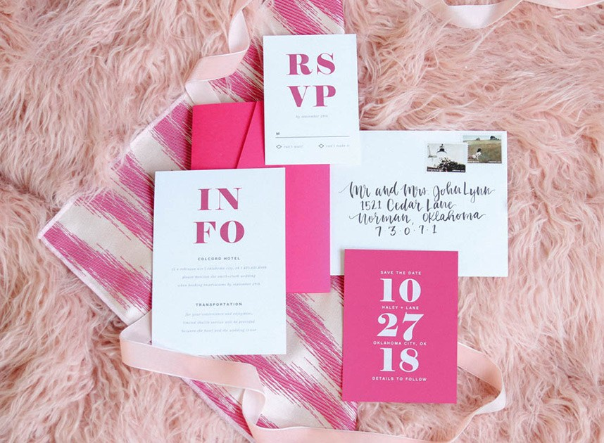 Oklahoma Wedding Invitations