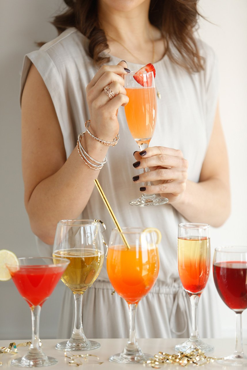 Bar Code Delicious Signature Drinks and Locally Produced Wine Oklahoma Wedding Photographer Andrea Murphy Photography