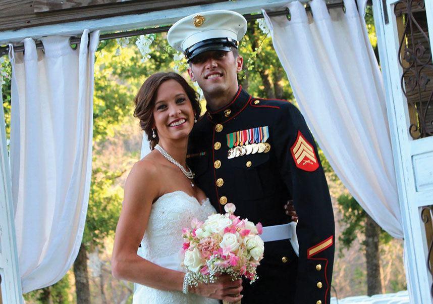Pray for Rain BC Clark Jewelers couple