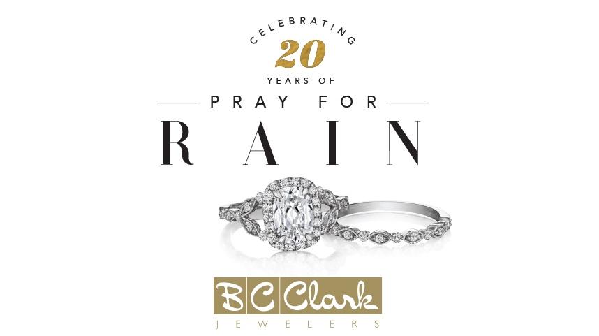 BC Clark Jewelers Pray for Rain Header
