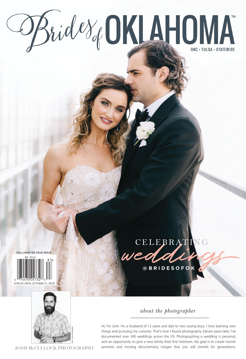 Brides of Oklahoma Fall/Winter 2018 cover
