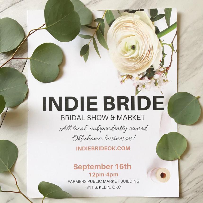Indie Bride Bridal Show & Market September 16