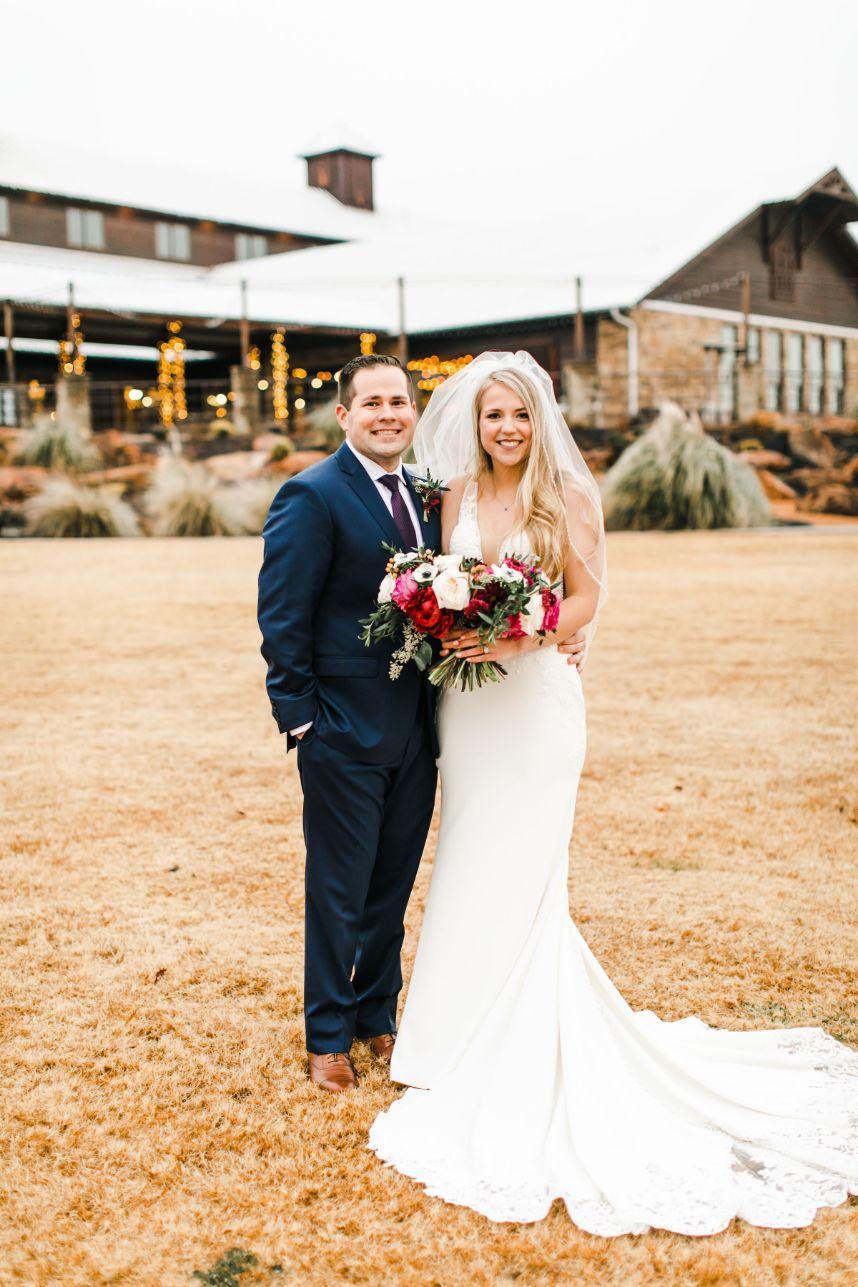 Alexia Duchscherer Weds Matt Hammond Romantic Winter Wedding at Southwind Hills from Sarah Libby Photography