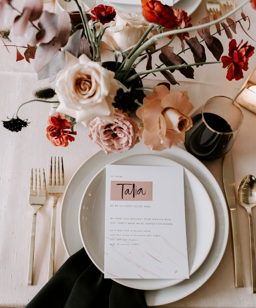 Contemporary Romance Styled Shoot By Ivory Rose 12