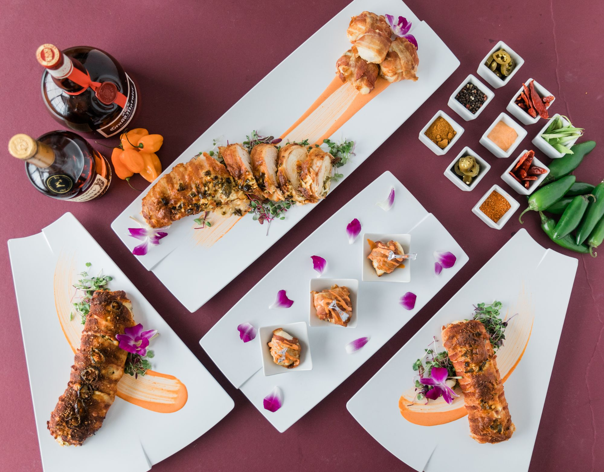 insta-worthy dishes from oklahoma's best caterers