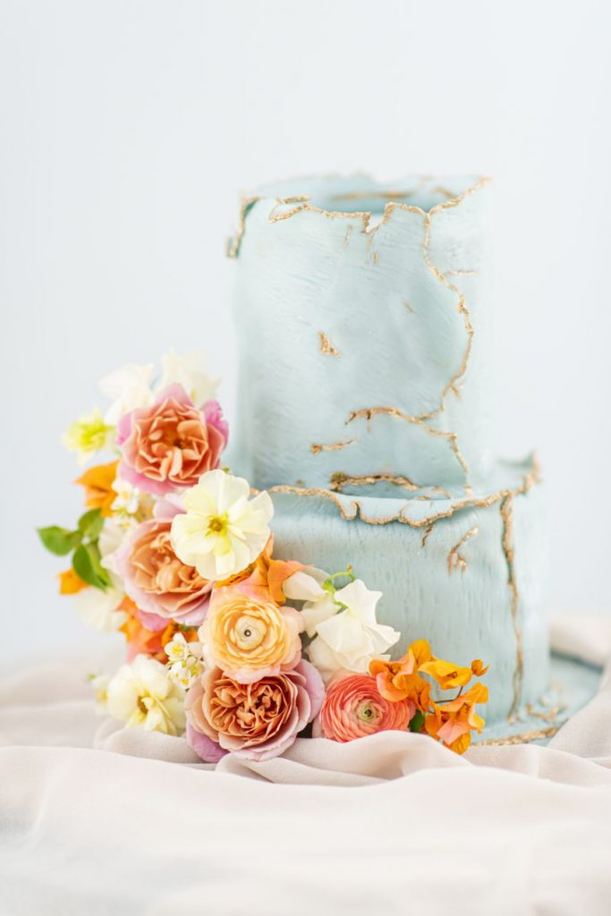 clementine wedding cake