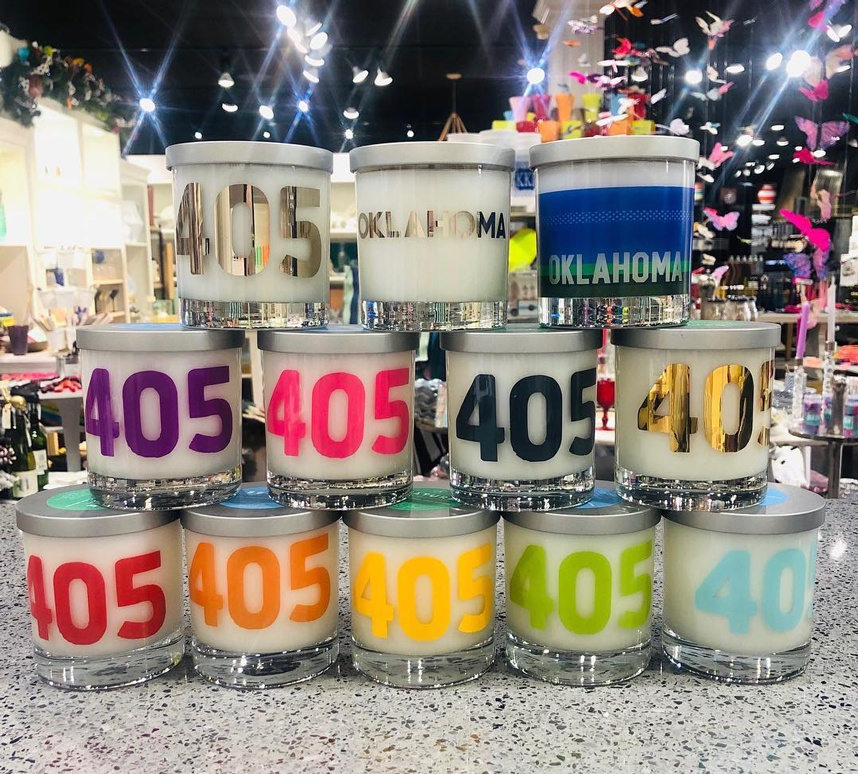 culinary catering 405 candle