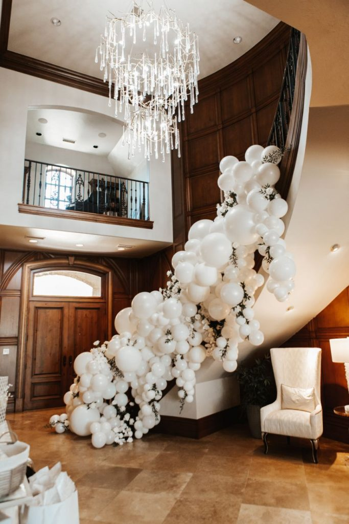 opulent couture balloons
