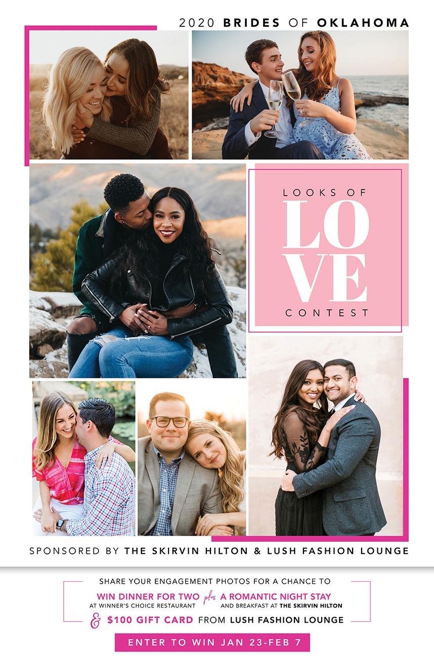 2020 looks of love contest brides of oklahoma