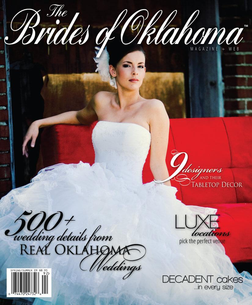 Spring Summer 2009 Issue of Brides of Oklahoma Magazine