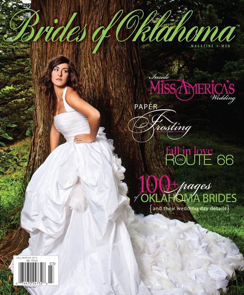 Fall Winter 2010 Issue of Brides of Oklahoma Magazine