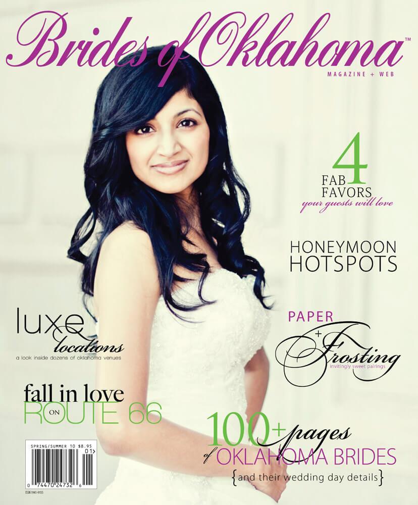 Spring Summer 2010 Issue of Brides of Oklahoma Magazine