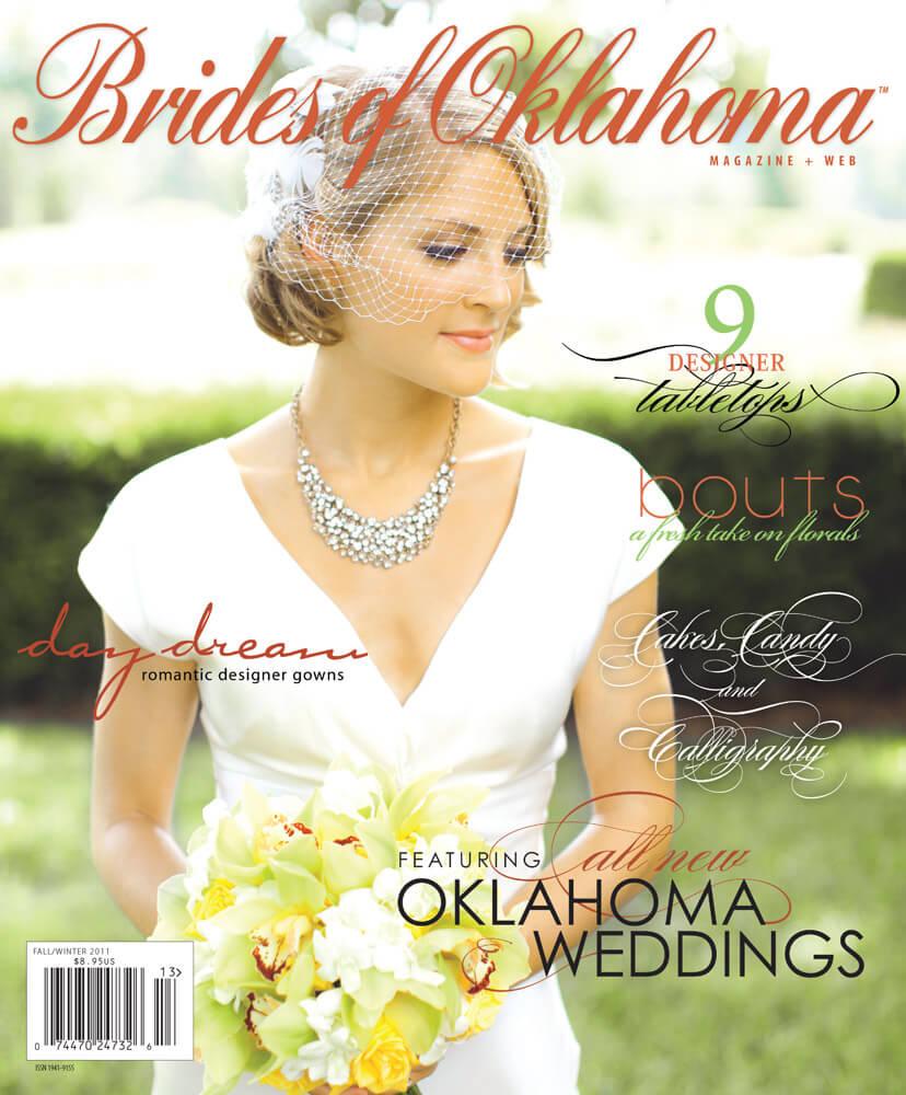 Fall Winter 2011 Issue of Brides of Oklahoma Magazine