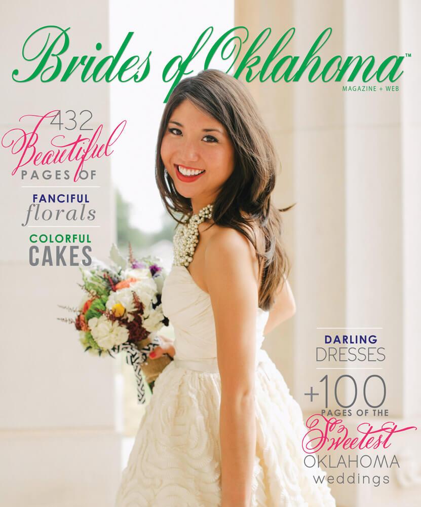 Spring Summer 2013 Issue of Brides of Oklahoma Magazine