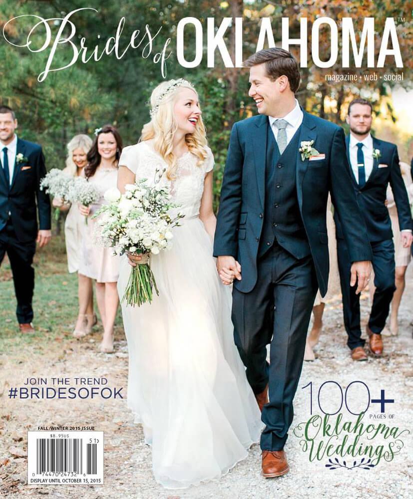 Fall Winter 2015 Issue of Brides of Oklahoma Magazine