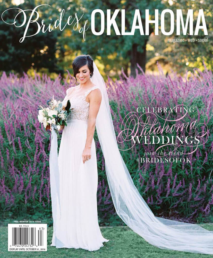 Fall Winter 2016 Issue of Brides of Oklahoma Magazine