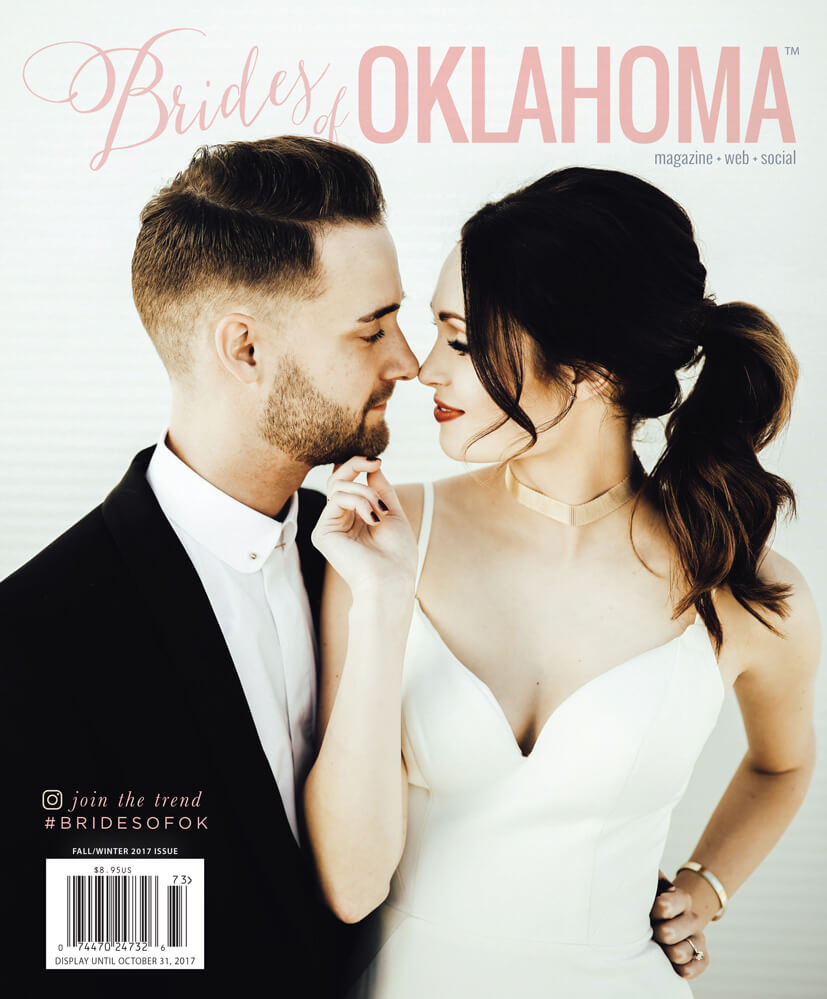 Fall Winter 2017 Issue of Brides of Oklahoma Magazine