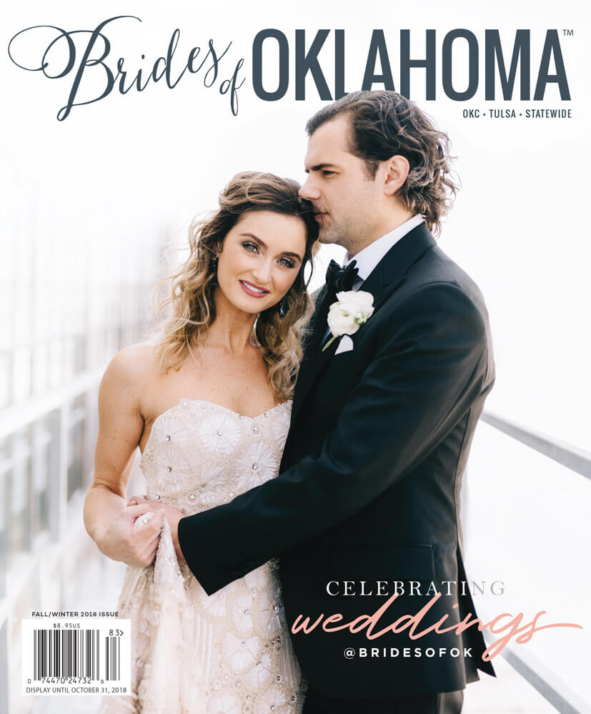 Fall Winter 2018 Issue of Brides of Oklahoma Magazine