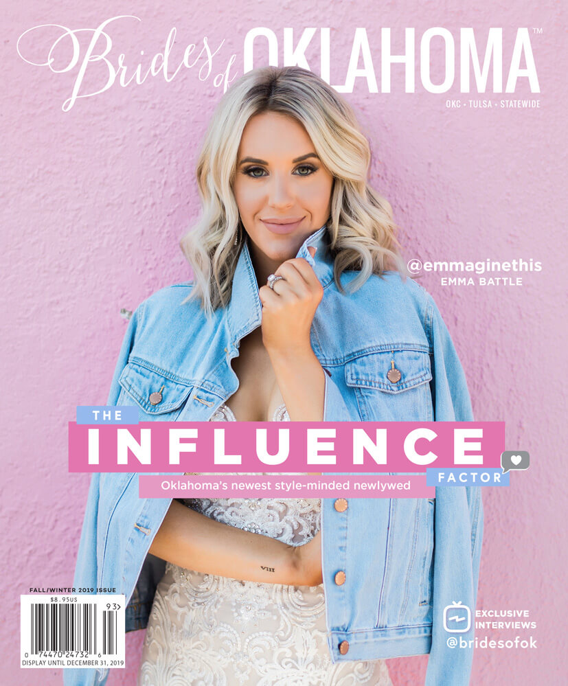 Fall Winter 2019 Issue of Brides of Oklahoma Magazine