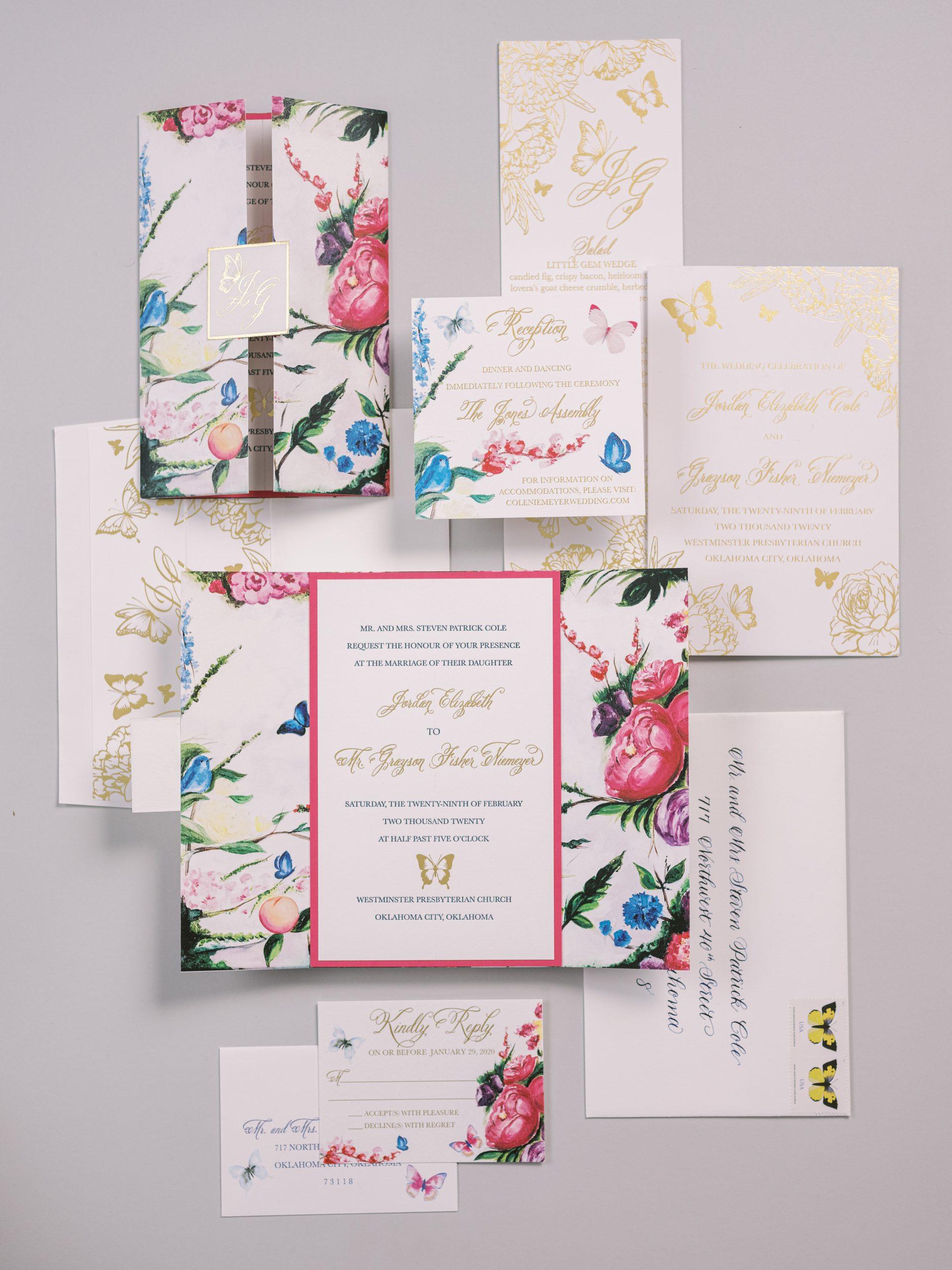 Butterfly Inspired Wedding_001