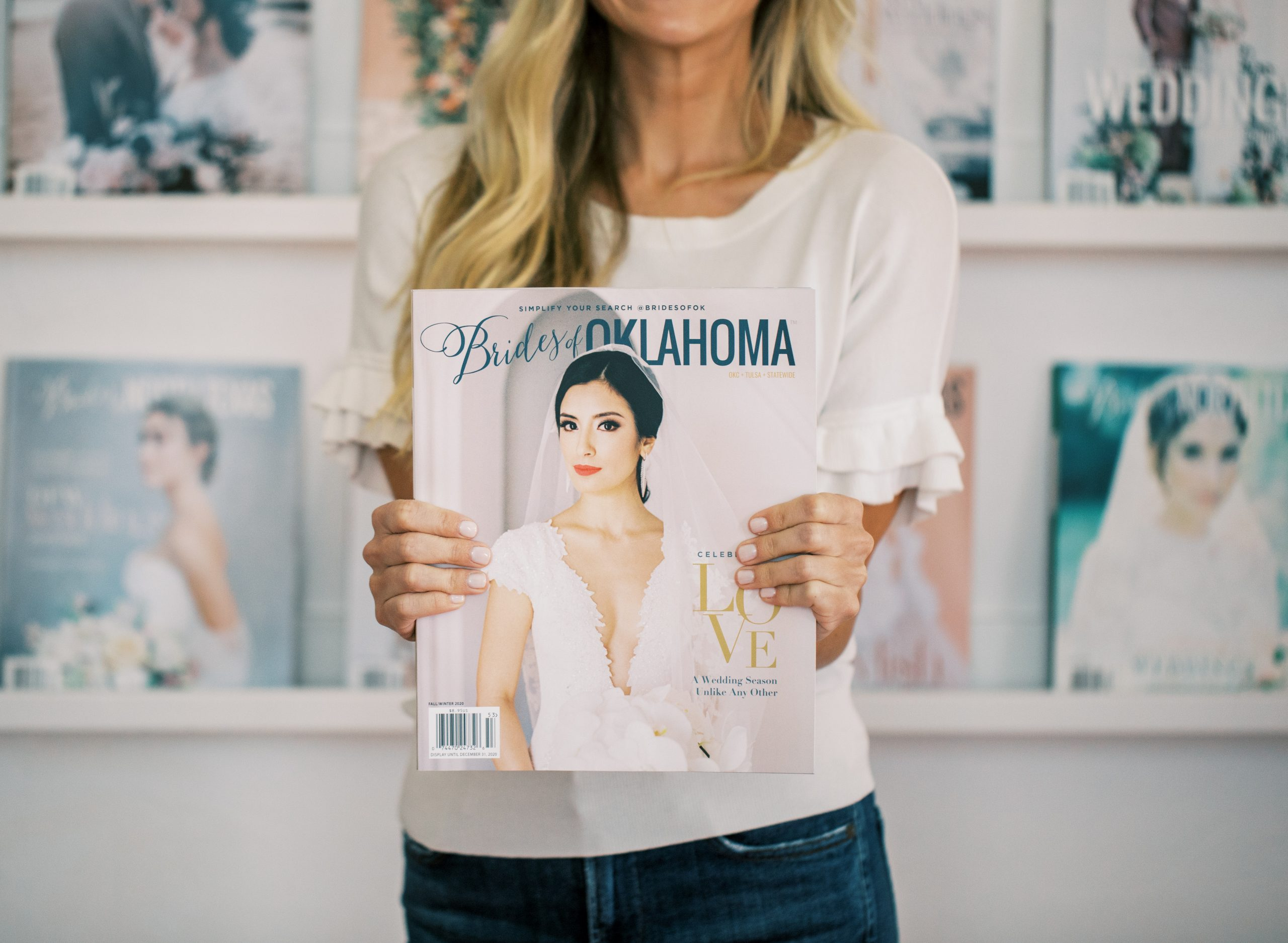 Brides of Oklahoma Fall Winter 2020 Issue Release
