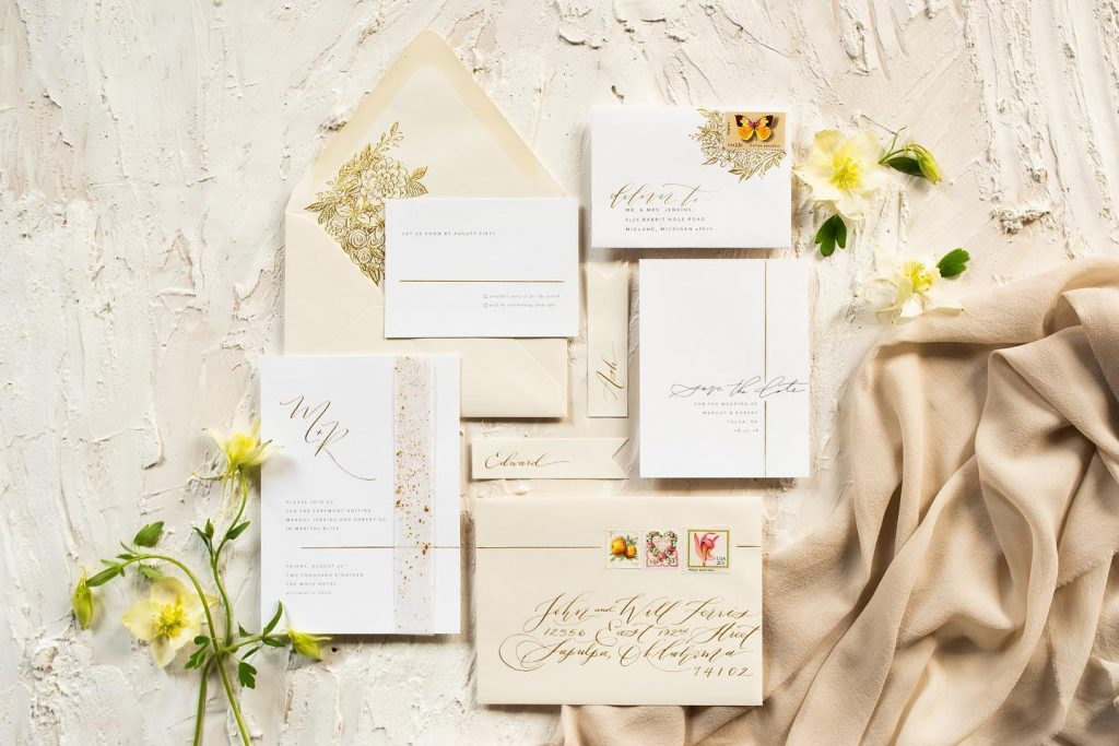 Calligraphy team laurelandmarie answer all in a when-to-send etiquette guide for everything from save-the-dates to thank-you notes – you'll definitely