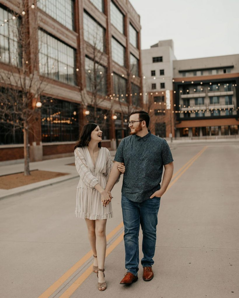 """From the photographer: """"I've shot Jon + Rachael 5 times now and their anniversary session is probably my favorite! They"""