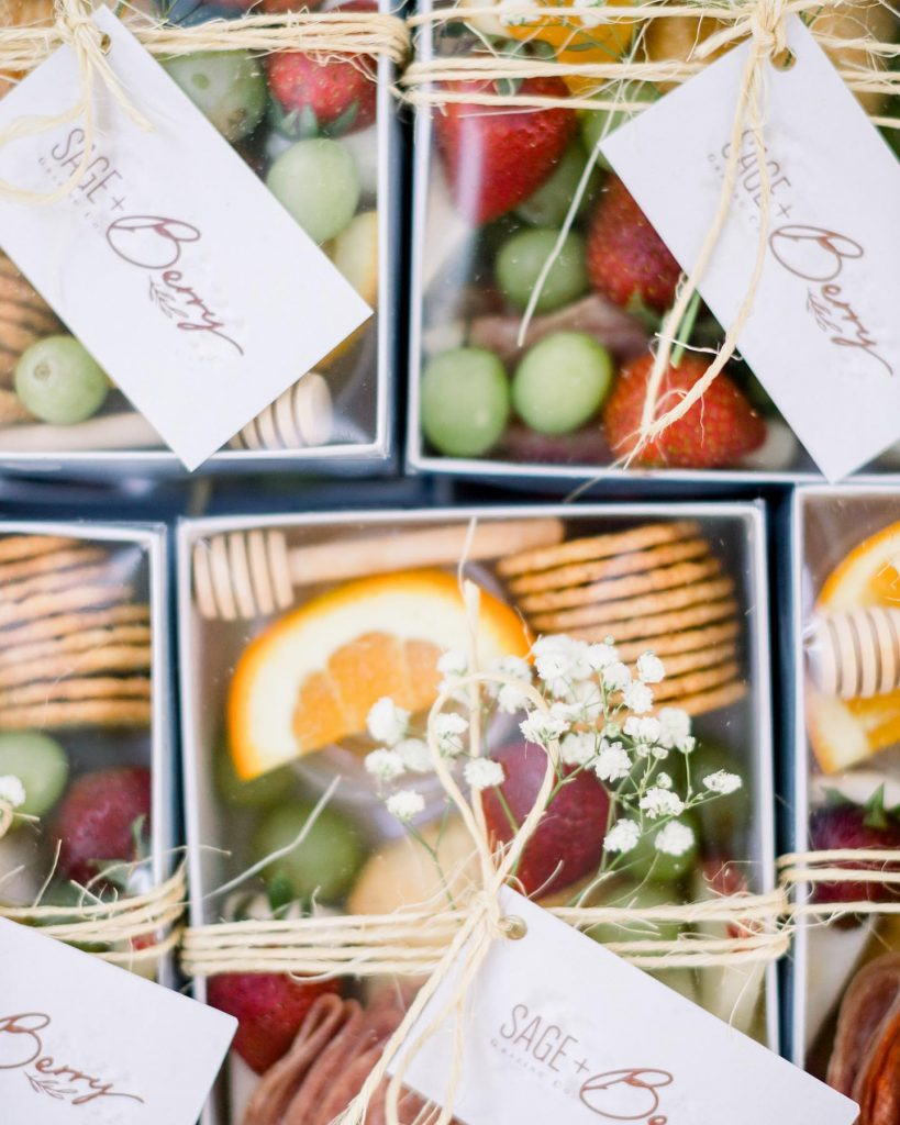 It's true everything is nice with sugar & spice, but everything is whimsical with sageandberry! These adorable grazing boxes are