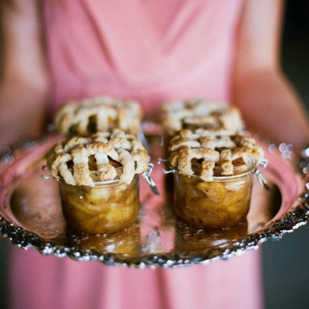 Run – don't walk – because it is officially pie season! These mini apple pies from abbeyroadcatering are totally getting