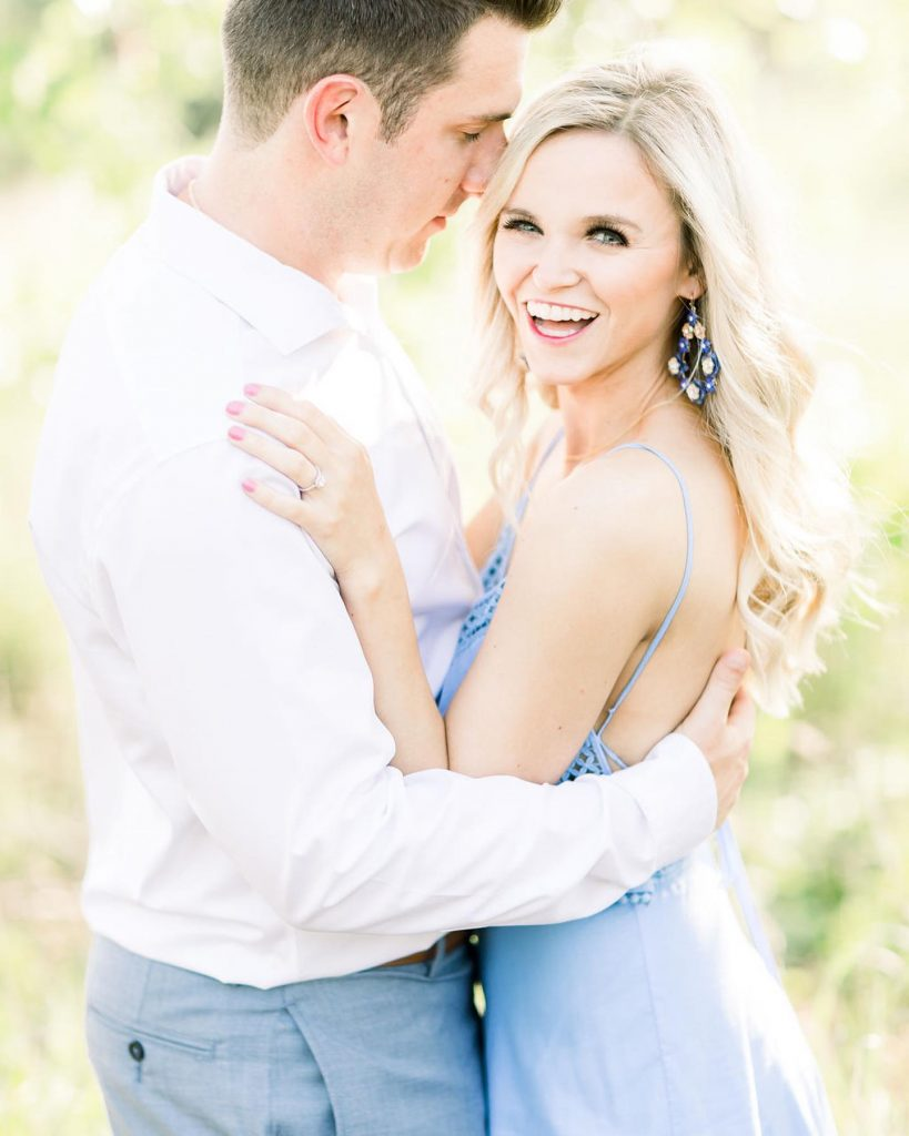 """""""With a good amount of thought and effort by Garrett and our families, the proposal was certainly the best moment"""