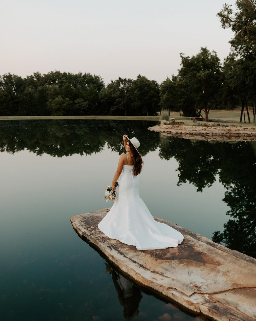 """Scenic waterside views are among many options for places to say """"I do"""" around the breathtaking property at esperanzaranchok ?"""