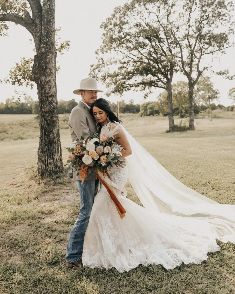 """My favorite wedding day memory was walking back up the aisle after our ceremony. After rescheduling our wedding a couple"