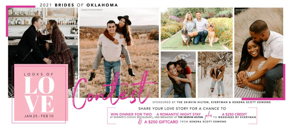 Brides of Oklahoma Looks of Love Contest