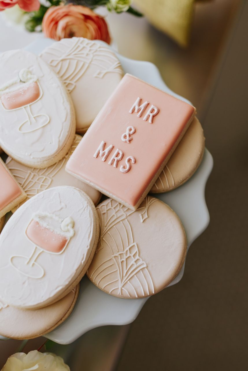 The Meet Cute_ Mod Deco Style Wedding Inspiration at The Yale Theater 1