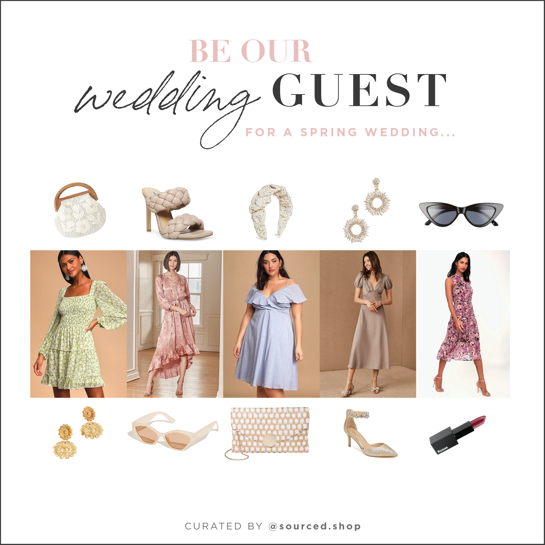 shoppable spring wedding attire cover