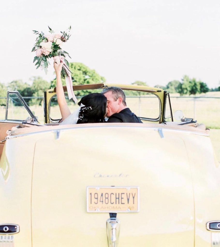 "Beep beep! foreverborrowed said it best: ""Get in brides...we're going to celebrate!"" ⁠⁠? ⁠// Photo: hollyfeltsphoto⁠⁠ •⁠⁠ •⁠⁠ Brides of"