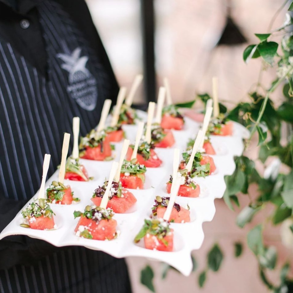 Watermelon Salad Skewers – sung to the tune of Watermelon Sugar by Harry Styles, of course. 🎶 These refreshing bites