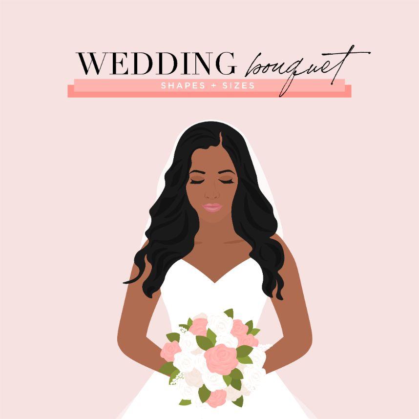 Floral 101: Wedding Bouquet Shapes + Sizes