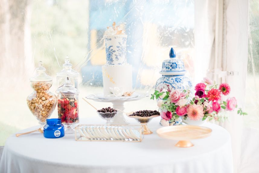 event planner dessert table