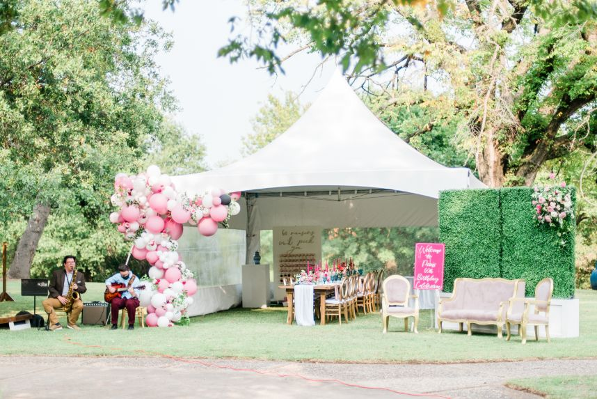 tent party event planner