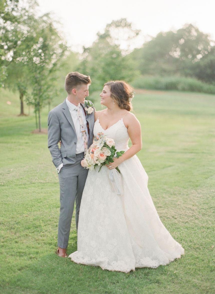 pastel garden wedding