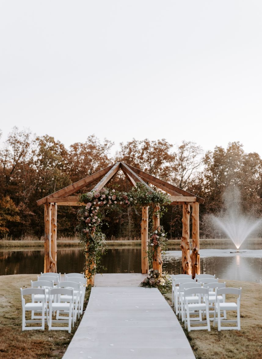 the pines at moser farms wedding venue