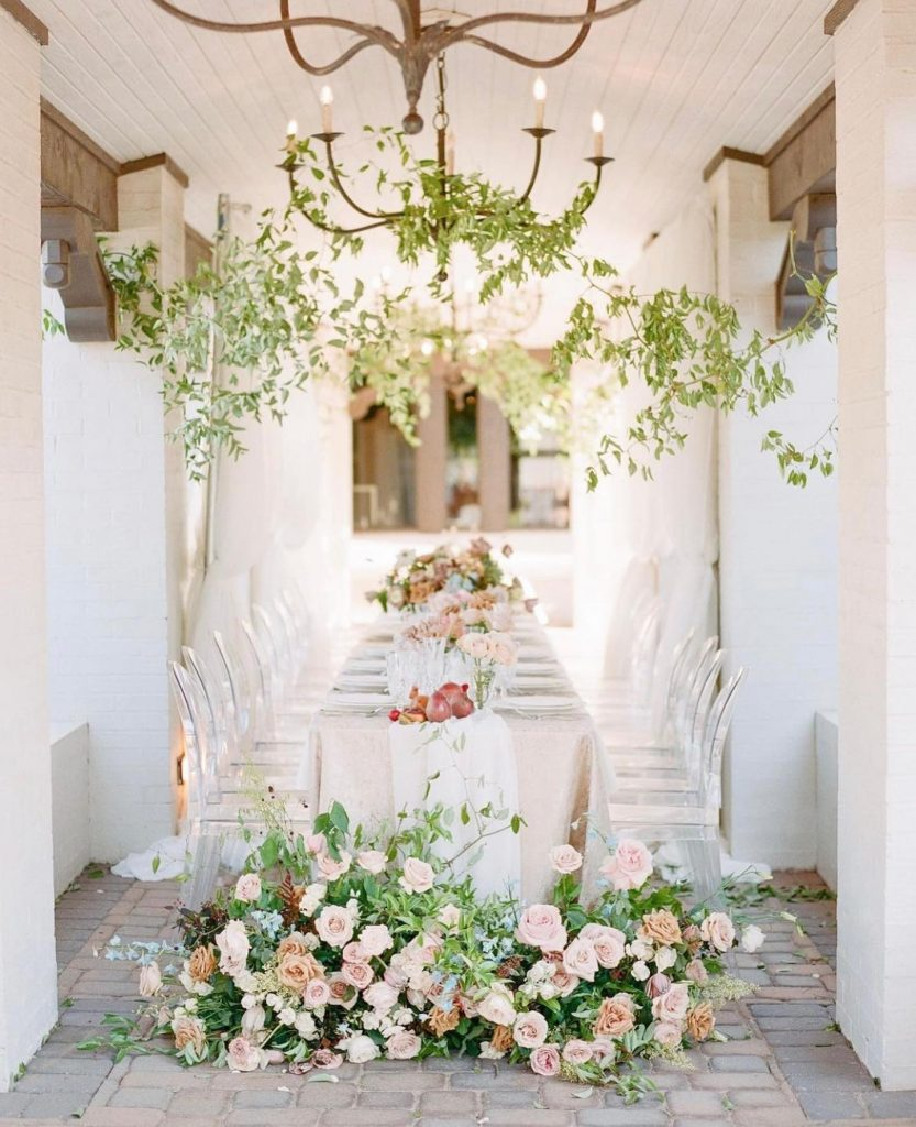 This intimate floral-filled soiree is the perfect weekend parting gift! With dusty rose blooms and dainty greenery from poppylanedesign, this