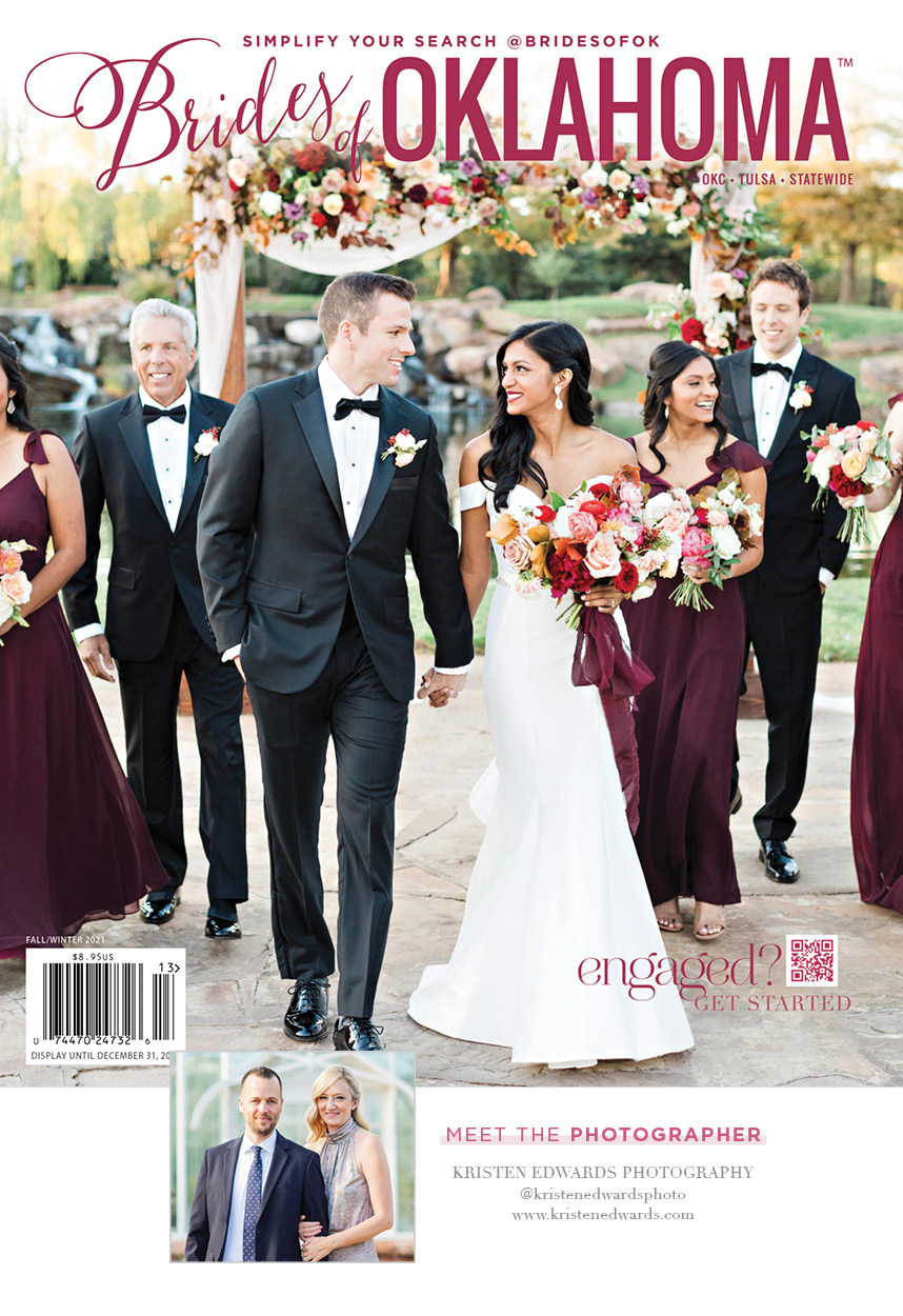 On the Brides of Oklahoma Fall/Winter 2021 Cover